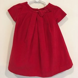 NWT Baby Gap red corduroy dress w/  bloomers